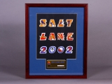 PIN SET, SALT LAKE 2002 (FRAMED)