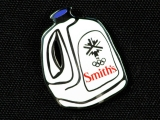 PIN, GALLON OF SMITH'S MILK