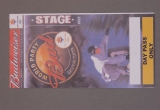 STAGE PASS, BUD WORLD PARTY