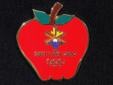 PIN, RED APPLE