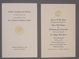 INVITATIONS, WORLD LEADERS AND PRESIDENTIAL RECEPTIONS