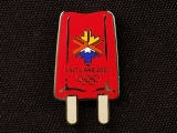 PIN, RED POPSICLE