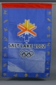 FLAG, BLUE OLYMPIC LOGO