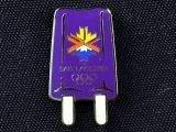 PIN, PURPLE POPSICLE