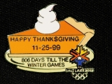 PIN, THANKSGIVING PUMPKIN PIE, 806 DAYS LEFT
