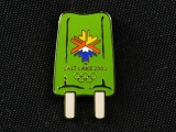 PIN, GREEN POPSICLE