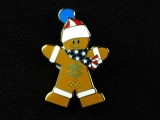 PIN, GINGERBREAD MAN