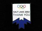 PIN, OLYMPIC THANK YOU