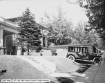 Tourssen and Company, Oldsmobile in Front of Terry Residence