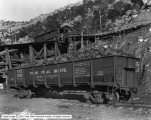 Lion Coal Company, Wattis, Utah, Car of Lump Coal Loaded, #8
