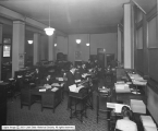 Western Loan and Building Company, Interior of General Office