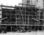 Pantages Theatre, Progress Showing the Front