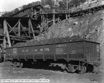 Lion Coal Company, Wattis, Utah, Car of Nut Coal Loaded