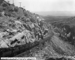 Lion Coal Company, Wattis, Utah, Showing Trip on Tram Above 32% Grade