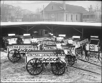 Ten Peacock Coal Wagons, Studebaker Brothers