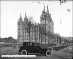 Lincoln Car at Temple Square