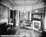 Mrs. Hoock Residence, From Parlor to Dining Room