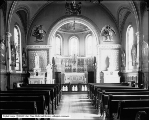 Interior of Sister's Chapel at Holy Cross Hospital