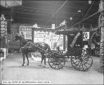 Fleischmann Horse and Wagon at Auditorium