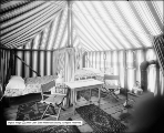 Four Compartment Tent and Two Beds - Upper Geyser Basin Camp