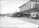 Western Pacific Opening, Train Coming Into Depot