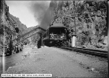 Train in Canyon