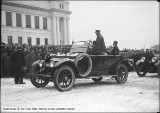 Botterill Auto Company, General Pershing in Hudson at University of Utah