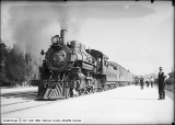 First Train at New Denver and Rio Grande Depot
