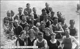J. F. Hudlow, Group of Swimmers at Saltair