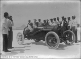 Denver and Rio Grande Railroad, Auto Race on Salt Beds