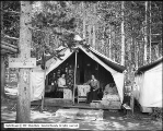 Matron's Tent - Swan Lake Camp