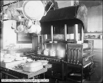 Utah Gas and Coke Company, Interior of Kitchen at Oregon Short Line Depot