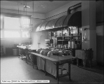Utah Gas and Coke Company, Interior of Kitchen at Rio Grande Western Depot