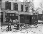 American Linen Supply Company Horse and Wagon