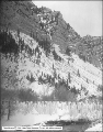 Provo Canyon, General View Showing Snow and Ice