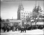 Conference Crowd, Temple Square