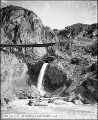 Bear River Canyon Waterfall, Stairway and Bridge