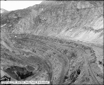 Utah Copper Mine Pit, Looking South