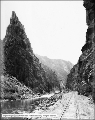 Black Canyon of the Gunnison, Curicanti Needle and Railroad