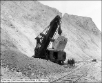 Utah Copper Mine Steam Shovel, End