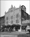 Rex Theatre, Side View of Front and Sign