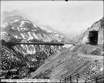 Utah Copper Mine, Carr Fork from Bingham and Garfield Depot