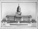 Utah Capitol Competition, South Elevation