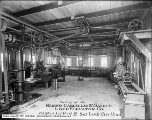 Newson Safety Elevator Company, Interior of Shop