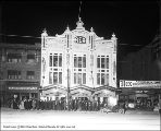 Rex Theatre at Night
