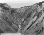 Yellowstone Canyon, From Brink of Lower Falls