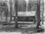 Dance Hall, Lake Camp, Exterior Showing Floor