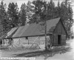 Dance Hall, Canyon Camp Exterior