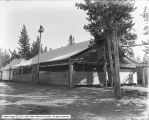 Dining Room at Geyser Camp, Exterior