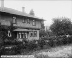 Side View of Residence and Yard, J. E. Galigher